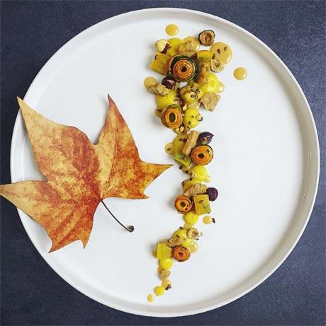 Scenografia del piatto - Tecniche di presentazione e di decorazione ...