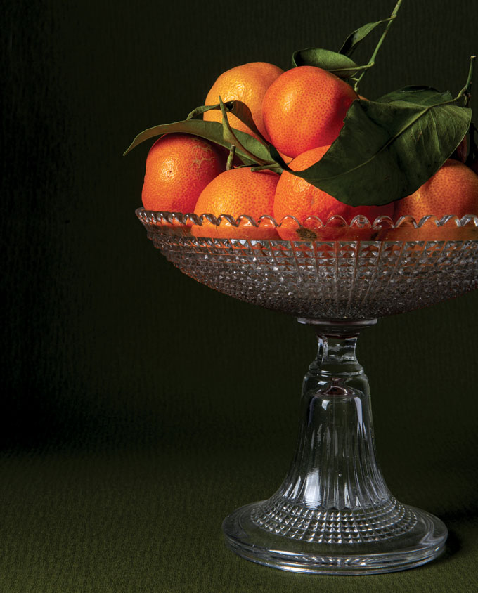 7.alzata con mandarini